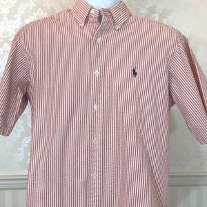 Men's Ralph Lauren Short Sleeve Seersucker Shirt